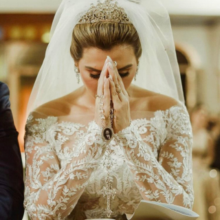 Terço de noiva por Ana Frederika