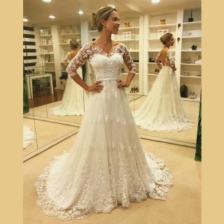 Vestido de noiva Carol Hungria