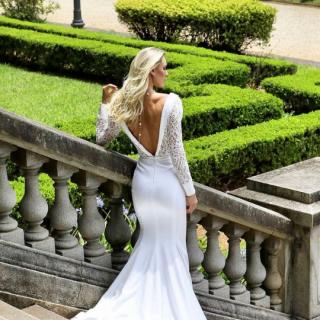 Vestido de noiva por Flavio Galeazzi Atelier