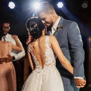 Vestido de noiva por Tailiny Coelho Alta Costura