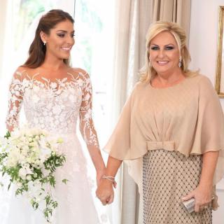 Inspiração de vestido para mãe de noiva