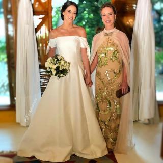 Vestido mãe de noiva