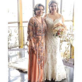 Vestido mãe de noiva por Espaço Haype